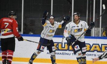 'Kurbads' grūtā mačā izcīna uzvaru pār 'Donbass'; sasniedz IIHF Kontinentālā kausa trešo kārtu