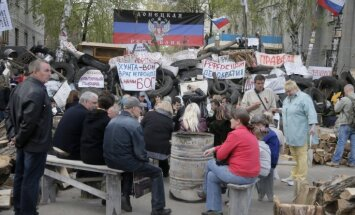 Kramatorskas un Slovjanskas iedzīvotāji lūdz palīdzību Ukrainas armijai