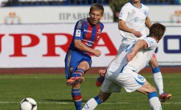 Cauņas pārstāvētā CSKA komanda UEFA Čempionu līgas mājas spēli aizvadīs Sanktpēterburgā