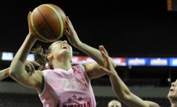 Latvijas sieviešu basketbola izlase sīvā cīņā zaudē Ungārijai