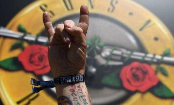 'Baltā apkaklīte' atvaļinājumā. Viestura Buivida 10 Top 10 – 'Guns N' Roses'