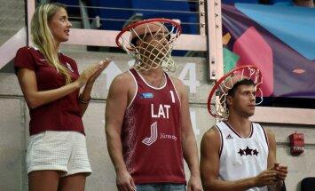 Баскетболисты сборной Латвии успупили туркам в первом матче квалификации ЧМ-2019