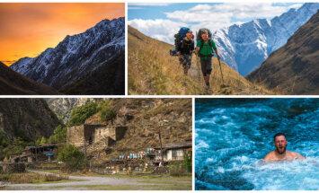 Gruzijas apburtais: citādi ceļojumi jau no mazotnes un trīs latviešu kāpiens Kazbekā