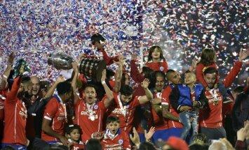 Čīle uzvar Argentīnu un pirmoreiz triumfē 'Copa America' turnīrā