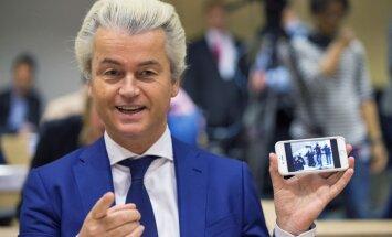 Nīderlandes galēji labējo līderi Vildersu tiesā par rasu naida kurināšanu
