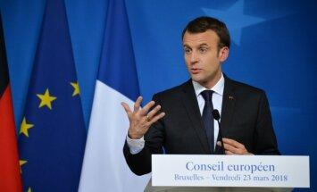 Skripaļa saindēšana ir uzbrukums ES suverenitātei, uzsver Makrons