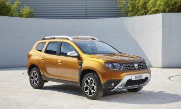 'Dacia' oficiāli prezentējusi jauno 'Duster' apvidnieku