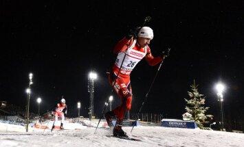 Latvijas biatlonisti neiekļūst starp 70 labākajiem PK sezonas pirmajās sacensībās