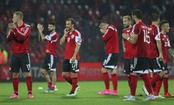 Albāniju varētu izslēgt no Eiropas čempionāta finālturnīra dalībnieku saraksta