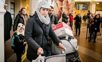 Pirmā Lietuvā ieradusies bēgļu ģimene zaudējusi uzturēšanās atļauju kaimiņvalstī