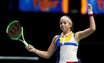 Остапенко на втором турнире подряд проиграла в первом же круге