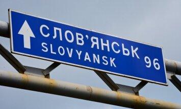 Slovjanskas 'mērs' atstādināts no amata un arestēts