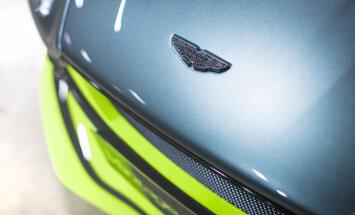 Pieprasījums pēc 'Aston Martin' topošā 3,3 miljonu eiro superauto divkārt pārsniedz plānoto