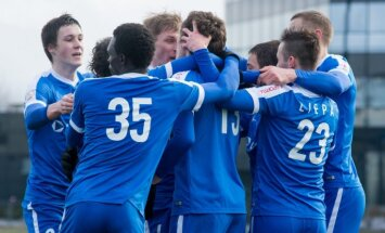 'Ventspils' futbolisti virslīgas mačā piekāpjas RFS komandai