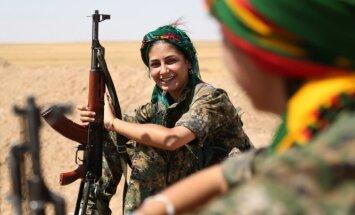 ASV brīdina, ka neatzīs autonomu kurdu reģionu Sīrijā