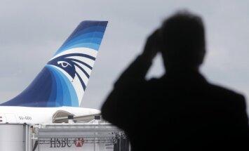 Vidusjūrā uztverts avarējušās 'EgyptAir' lidmašīnas radiobākas signāls