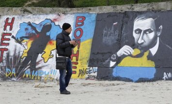 Kaujinieki no Ukrainas mēģina bēgt uz Krimu, ziņo UDD