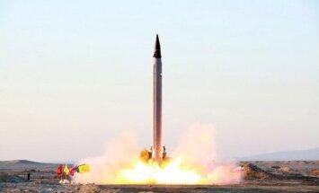 Irāna apstiprina, ka veikusi kārtējo raķetes izmēģinājumu