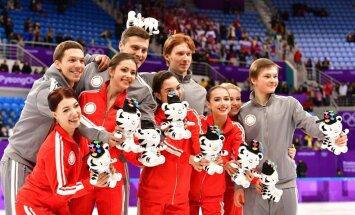 Фигуристы принесли России вторую медаль на Олимпийских играх в Пхенчхане