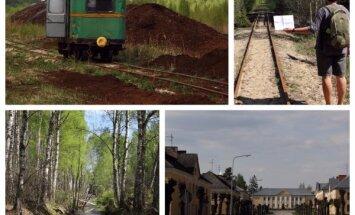 Pārgājiens laikā un telpā: Sedas purvu plašumi, dzelzceļa sliedes un padomju mantojums
