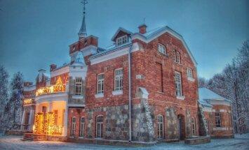 Atdzimusi kādreizējā Latgales mākslinieku bohēmas vieta - Lūznavas muiža