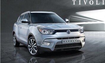 'SsangYong' parādījis 'Nissan Juke' konkurentu