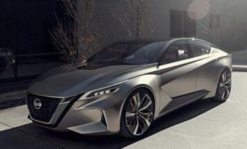 'Nissan' parādījis savu nākamo sedanu dizaina konceptu
