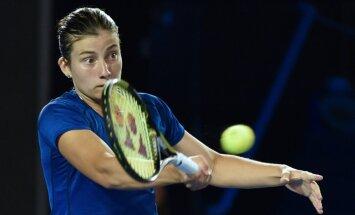 Sevastova piedzīvo zaudējumu Ņūheivenas WTA 'Premier' turnīra otrajā kārtā
