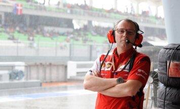 Domenikali pamet 'Ferrari' F-1 komandas vadītāja posteni
