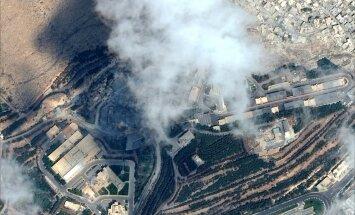 Koalīcija bombardējusi Sīrijas armijas posteņus