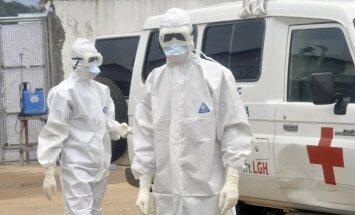 Skotijā fiksē Ebolas vīrusu mediķei, kura atgriezusies no Āfrikas