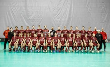 Latvijas florbola izlase pasaules čempionāta atlases noslēgumā zaudē Šveicei