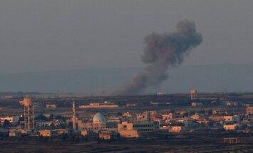 Sīrijas valdības spēki sākuši uzbrukumu valsts dienvidos