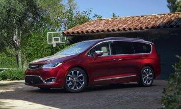 'Chrysler' atvadās no 'Voyager' un tā vietā piedāvās jauno 'Pacifica'