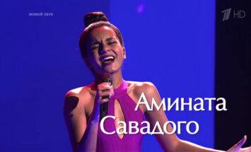 """ВИДЕО: латвийская певица Амината покинула шоу """"Голос"""""""