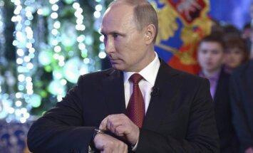 Неформальный Путин: подробности встречи Нового года в Хабаровске