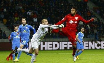 BATE bez Dubras Čempionu līgas mačā nospēlē neizšķirti ar slaveno Vācijas klubu 'Bayer'
