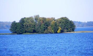 Alūksnes ezera Cepurītes salu plāno pārvērst par tūrisma objektu