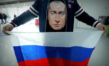 Krievijā rūk Putina lielā popularitāte