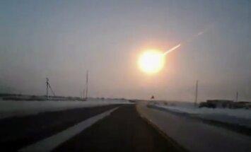 Foto un video: meteorīts Krievijā