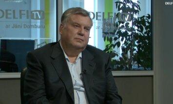 ВИДЕО. Интервью на Delfi TV: Янис Домбурс vs Янис Урбанович