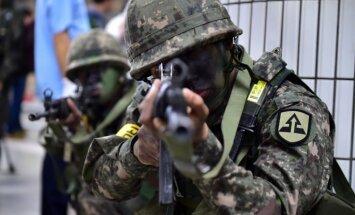 Ziemeļkoreja lūdz ANO Drošības padomi apspriest ASV-Dienvidkorejas manevrus