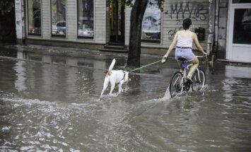 Во вторник пройдут дожди, вечером в Риге возможен ливень