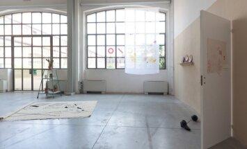 Foto: Latvijas laikmetīgā māksla izstādē 'Le fragole del Baltico' Milānā