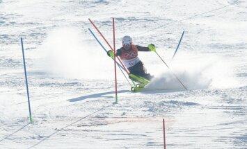 Kalnu slēpotājam Kristapam Zvejniekam vēl viena piektā vieta un sezonas rekords FIS punktos