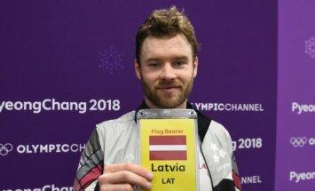 Silovs būs Latvijas komandas karognesējs olimpisko spēļu noslēguma ceremonijā
