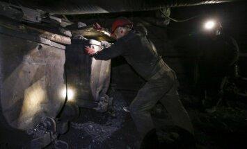 Donbasā ogļrači no nemierniekiem raktuvēs paslēpuši sprāgstvielas