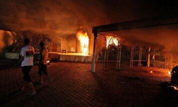 Kairā gājis bojā aizdomās turētais uzbrukumā ASV konsulātam Lībijā