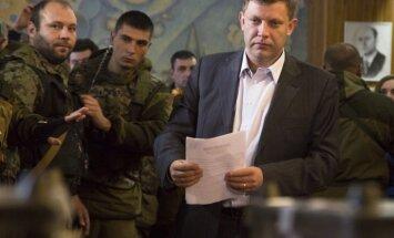 Побеждающий на выборах главы ДНР Захарченко готов вести диалог с Киевом