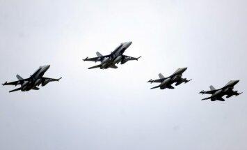 Baltijas valstu gaisa telpā notiek NATO mācības